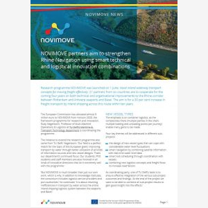 Read the first issue of NOVIMOVE NEWS