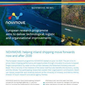 Read the second issue of NOVIMOVE NEWS